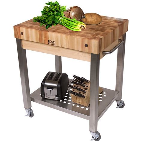 butcher block kitchen islands carts john boos the cucina technica quot butcher block kitchen cart from