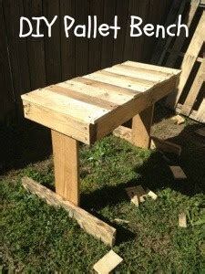 how to make a bench out of pallets how to make a bench out of pallets pallets pinterest