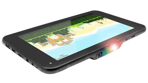 Tablet Projector The World S Tablet Projector Promises A 100 Inch Display