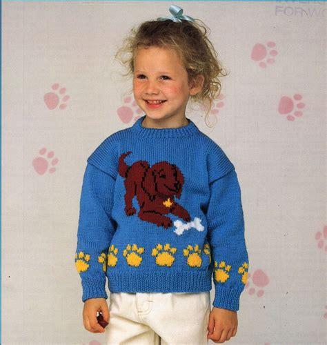 dog jumper pattern knitting childrens sweater knitting pattern pdf childrens jumper