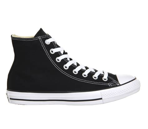 Converse Sport Black converse all hi black canvas unisex sports