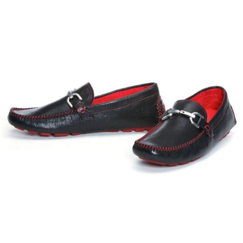 donald j pliner veedasp driving shoes black