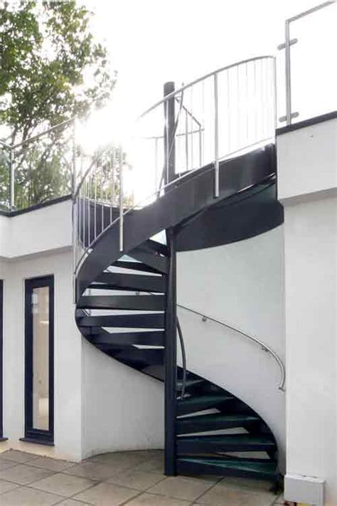 Outer Staircase Design Spiral Staircases In Bespoke Kit Form View Studies Pictures