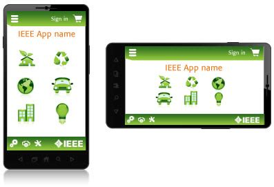 landscape layout app ieee mobile app guidelines ieee brand experience