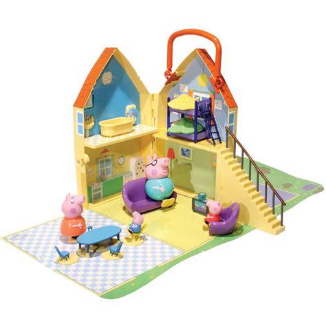 Peppa Pig House Playset by Peppa Pig Play House Play Set Mummy Pig Pig George Included Ebay