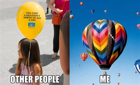 Balloon Memes - farting a balloon s worth of gas beheading boredom