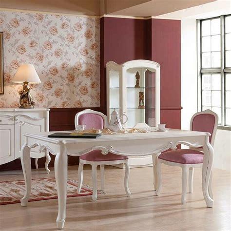 Meja Makan Klasik meja makan warna putih klasik queeny furniture