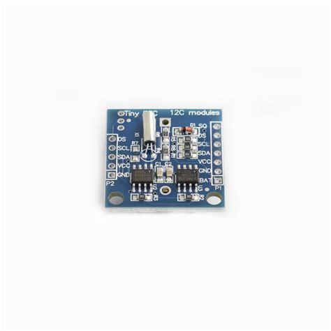 arduino i2c tutorial pdf arduino tiny rtc i2c real time clock module 24c32 storage