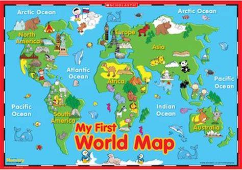 map world ks1 my world map poster primary ks1 teaching