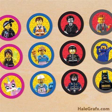 printable lego stickers free printable lego movie cupcake toppers