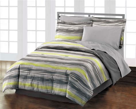 teen boys bedding new motion teen boys gray cotton comforter bedding set