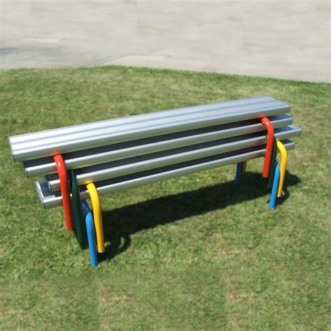 aluminium bench seats park benches for outdoor community parks gardens draffin