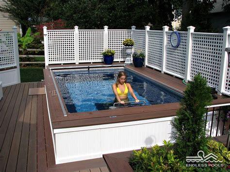 swim spa backyard designs 17 best images about endless pools 174 on pinterest swim
