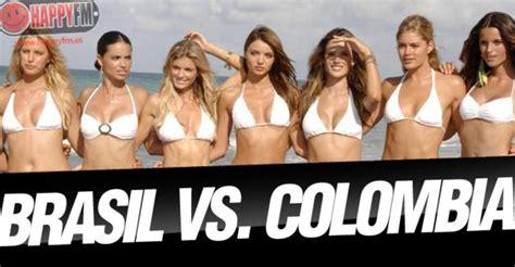 brasil contra colombia las 10 brasil contra colombia las 10 chicas m 225 s guapas del