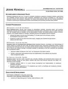 Floor Broker Sle Resume by Insurance Sales Manager Resume Sle Accomlishhed In Insurance Sales
