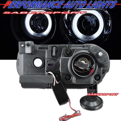 Lu Hid Type 2 2008 2014 dodge challenger ccfl halo projector headlights