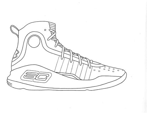 Curry 4 Sketches gallery of learn how to draw stephen curry basketball