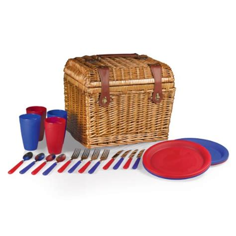 Picknik Timer Set picnic time oxford picnic basket outdoorandabout