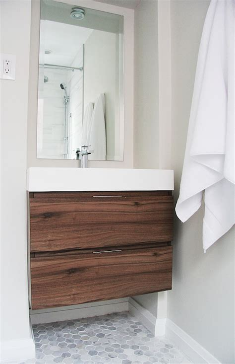 walnut bathroom ideas fabulous bathroom with modern floating vanity veneto bath