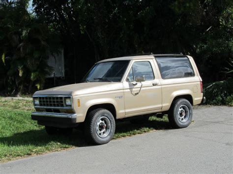 how cars run 1988 ford bronco transmission control 1988 ford bronco ii for sale photos technical specifications description