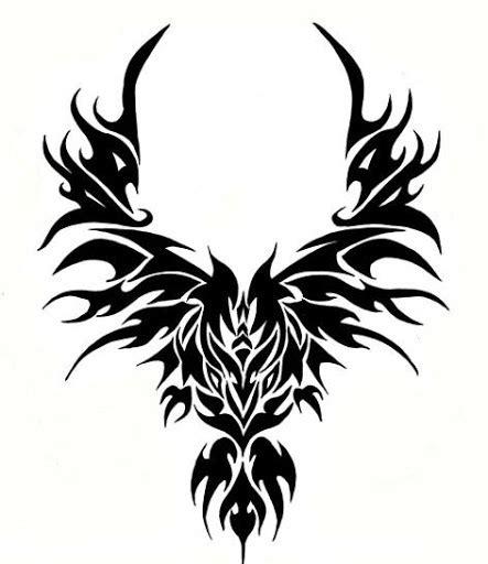 tattoo phoenix tribal tribal phoenix tattoo tattoos life style