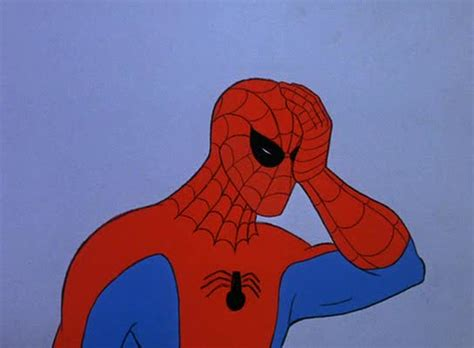 Spiderman Meme Face - spider man face palm blank template imgflip