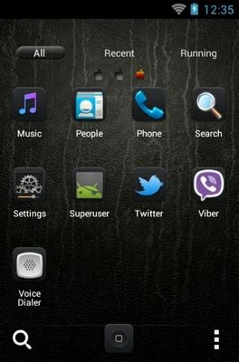 iphone themes in android iphone android theme for go launcher androidlooks com