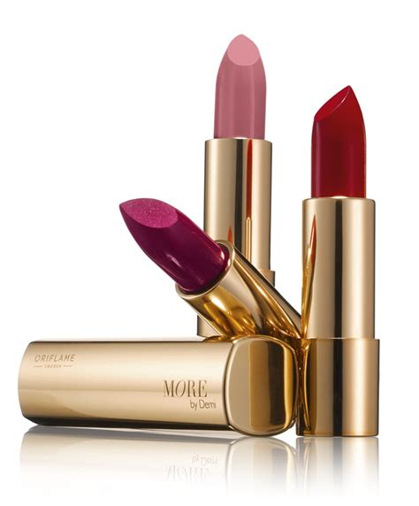 Parfum Oriflame More By Demi more by demi lipstick oriflame to be bold with