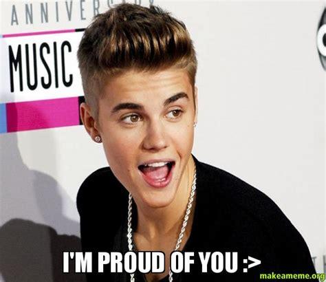 Proud Face Meme - i m proud of you gt make a meme