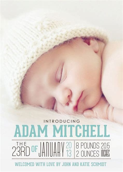 The Modern Way To Announce A Birth Baby Momento by Ideas You D Birth Announcements Pregnancy News