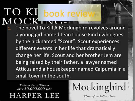 Book Reports On To Kill A Mockingbird by To Kill A Mockingbird Book Report Exle Pearsoned X