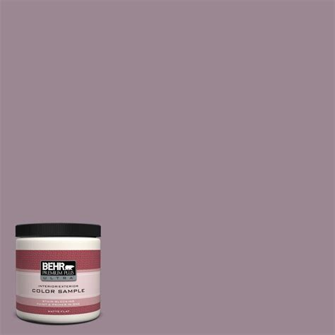 behr premium plus ultra 8 oz 690f 5 purple mauve interior exterior paint sle 690f 5u the
