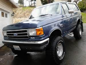 1990 Ford Bronco 1990 Ford Bronco Overview Cargurus