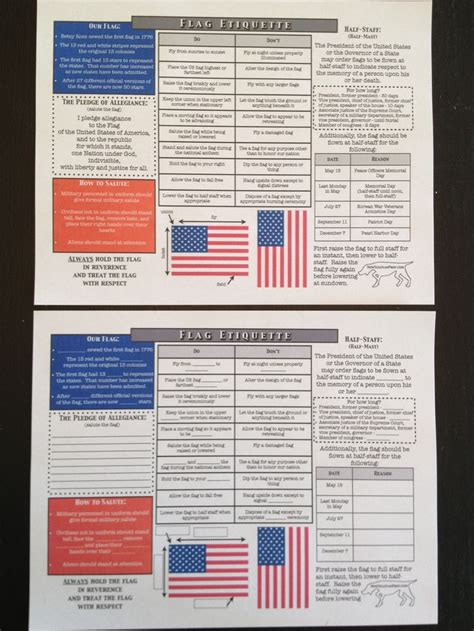 An American Worksheet 17 Best Images About Ahg Our Flag On Indoor Us Flags And Wolves