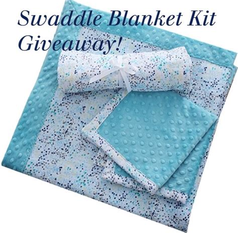 Blanket Giveaway - swaddle blanket kit giveaway sewciety my cuddle corner