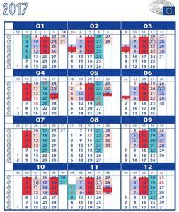 Calendar 2018 European Parliament European Calendar By Weeks Calendar Template 2016