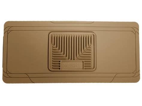 using factory floor mats on top of hushy liners husky liners custom fit heavy duty center hump floor mat