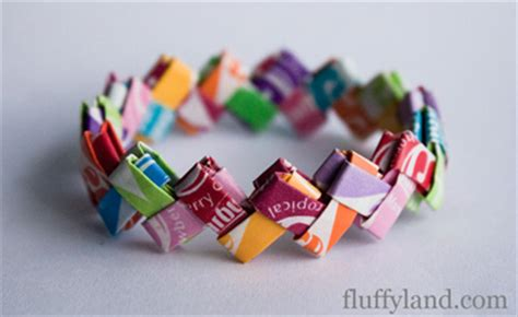 Starburst Wrapper Origami - starburst wrapper bracelet tutorial buatkalunggelang