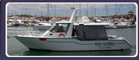 fishing boat charters mandurah high calibre charters photo 2
