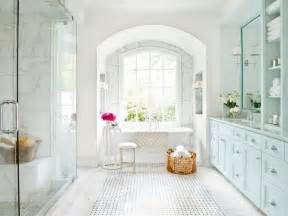 White Marble Bathroom Ideas by Old World Master Bathroom Mark Williams Hgtv