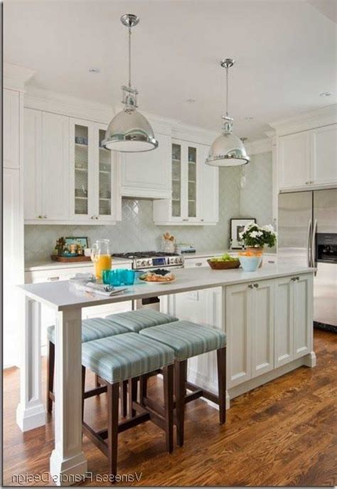 narrow kitchen with island awesome narrow kitchen island ideas also with table stools