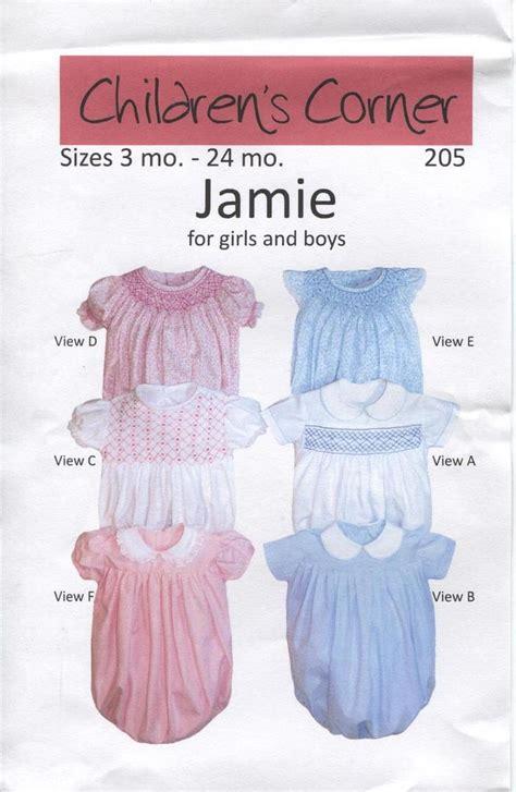 jamie pattern jamie smocked pattern by children s corner got to make a