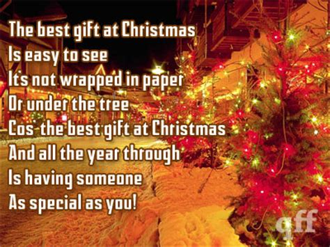 the best gift at christmas is easy to see it s not wrapped