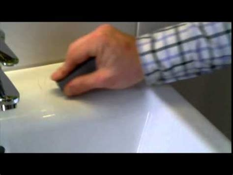 how to remove scratches from porcelain sink cramer kit riparazione per superfici smaltate ceramica