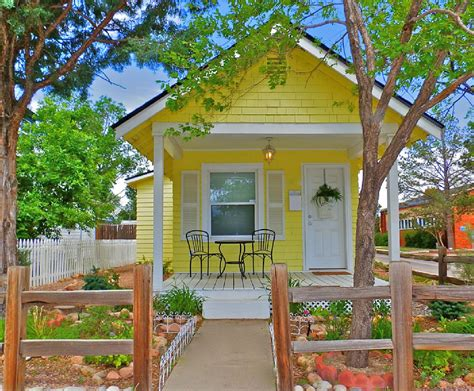 Small Vacation Ideas | tiny house town romantic cottage in colorado springs