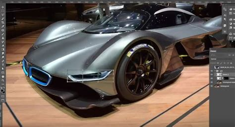 bmw hypercar aston martin valkyrie gets bmw i8 face in this absurdly