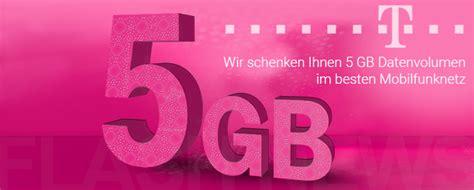 lte für zuhause telekom telekom deutschland verschenkt 5 gb lte datenvolumen