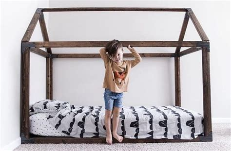 Toddler Floor Bed Frame 1000 Ideas About Toddler Floor Bed On Floor Beds Montessori Bedroom And Black House