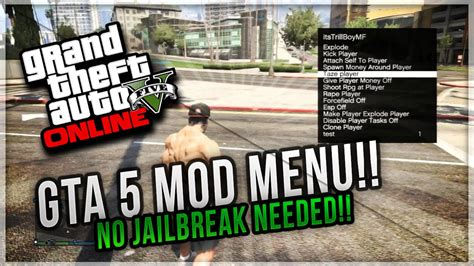 mod gta 5 without computer ps3 gta 5 ps3 how to get a mod menu without jailbreak on ps3