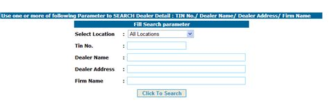 Address By Name Search Your Uttar Pradesh Vat Tin Details And Verification Of Up Tin Number
